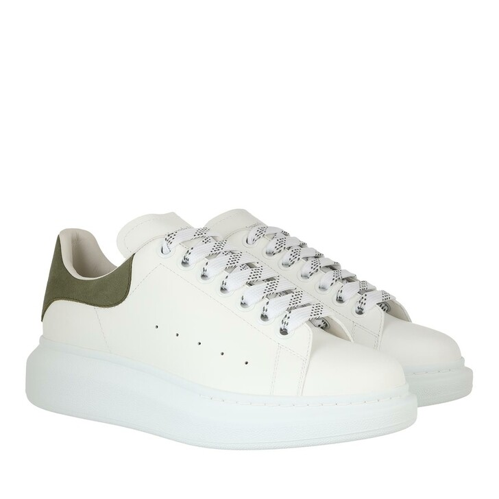 shoes, Alexander McQueen, Sneakers Leather White Multi