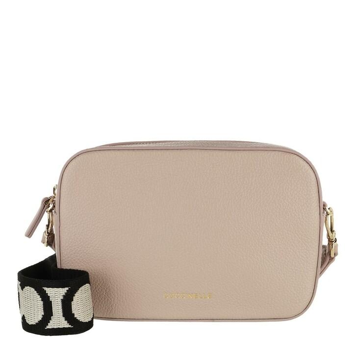 bags, Coccinelle, Mini Bag Bottalatino Leather  Powder Pink