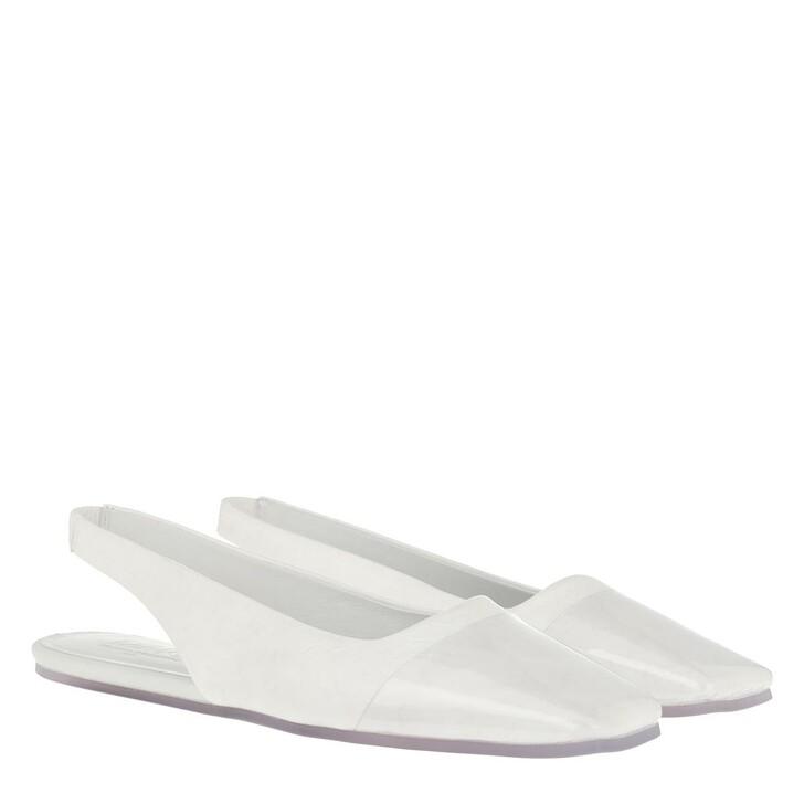 Schuh, MM6 Maison Margiela, Sandals Transparent/Bright White