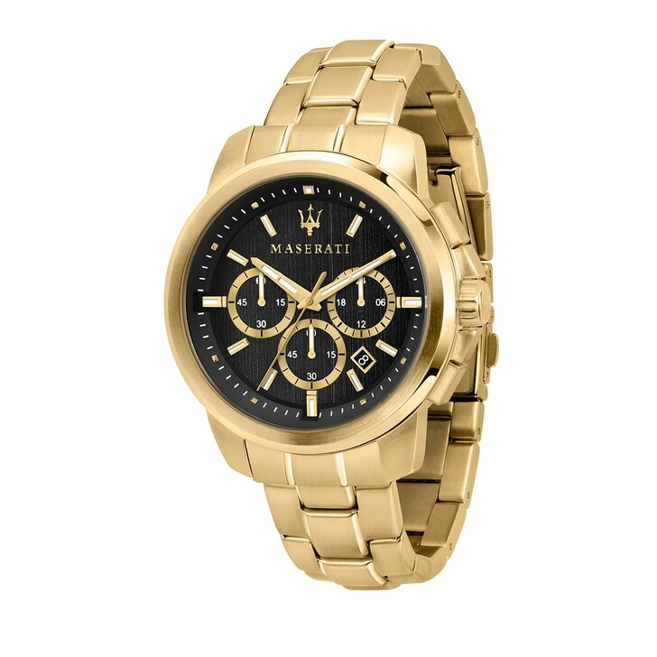 Uhr, Maserati, Watch Hau Successo 44mm Gold