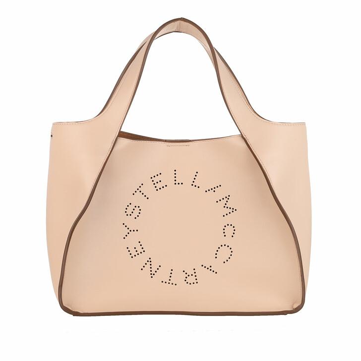 Handtasche, Stella McCartney, Logo Crossbody Bag Eco Soft Blush