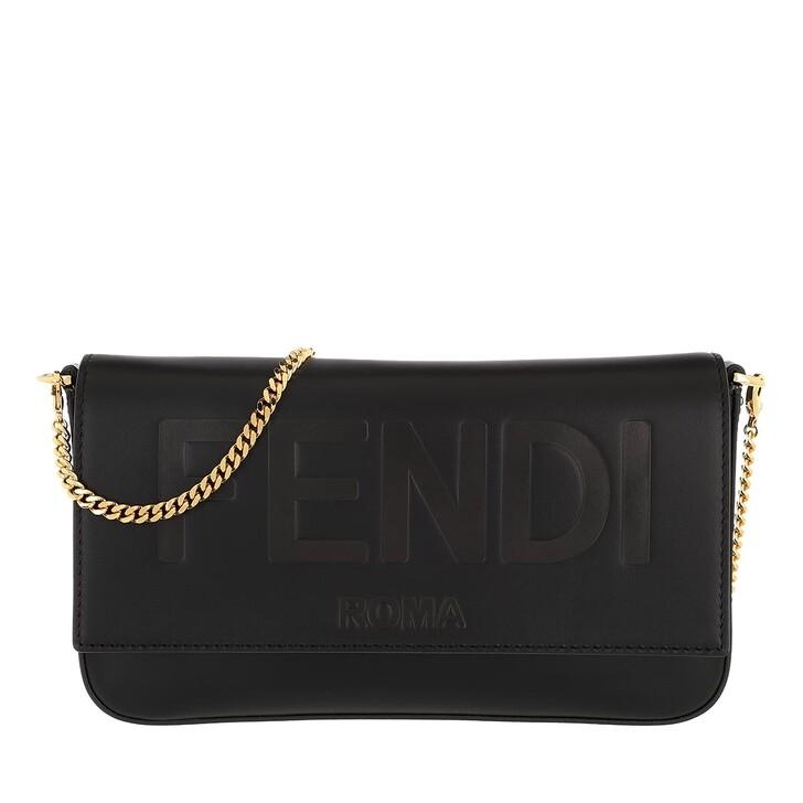 Geldbörse, Fendi, Chain Wallet Black