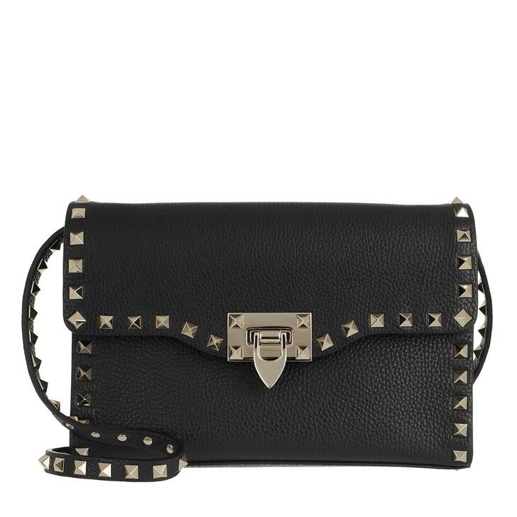 Handtasche, Valentino Garavani, Rockstud Small Crossbody Bag Pastel Nero