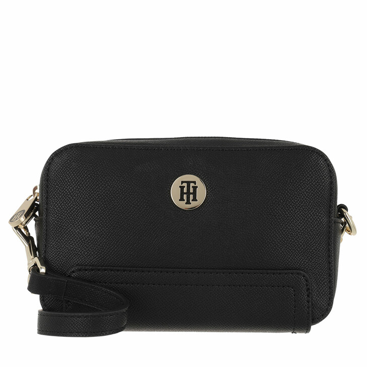 Handtasche, Tommy Hilfiger, Honey Camera Bag Black