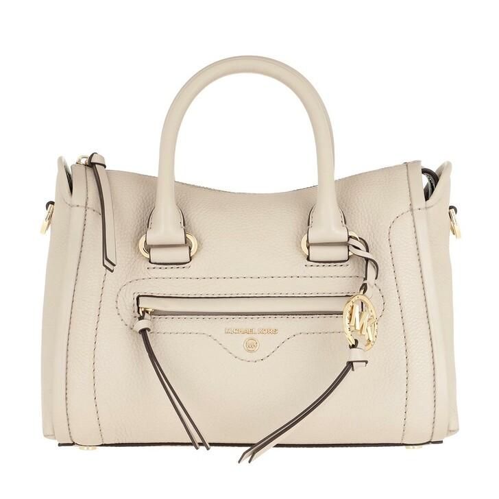 Handtasche, MICHAEL Michael Kors, Carina SM Satchel Bag Light Sand