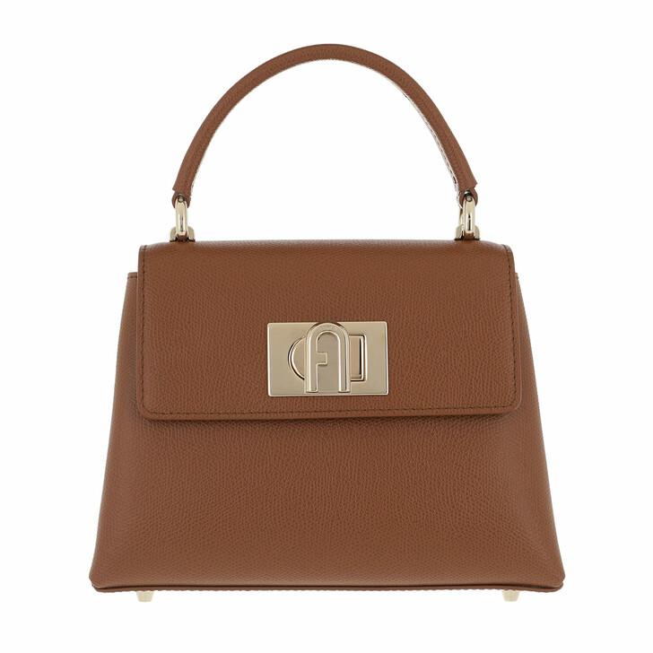 bags, Furla, Furla 1927 Mini Top Handle Cognac H