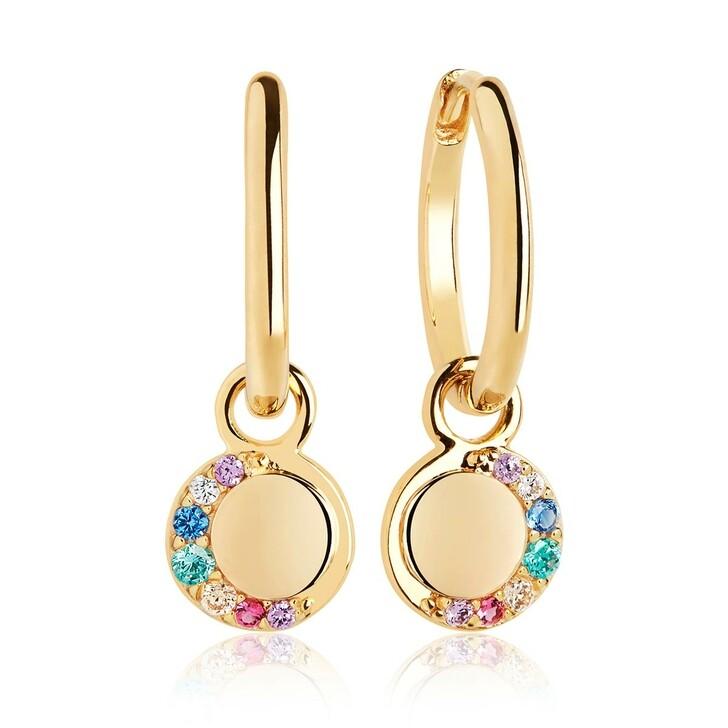 Ohrring, Sif Jakobs Jewellery, Portofino Lungo Earrings Yellow Gold