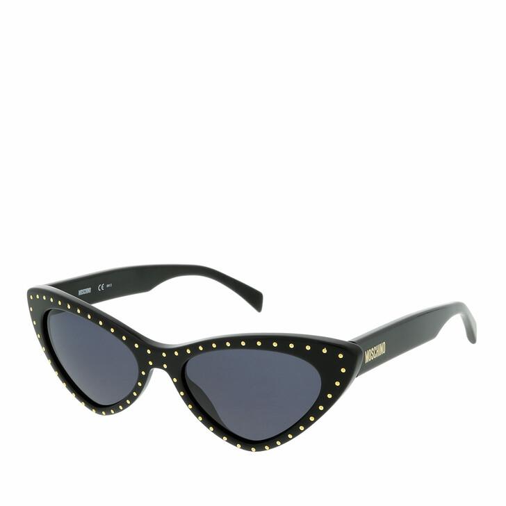 Sonnenbrille, Moschino, MOS006/S Black