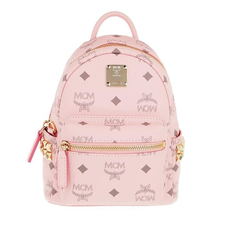 Reisetasche, MCM, Stark Backpack Xmn   Powder Pink