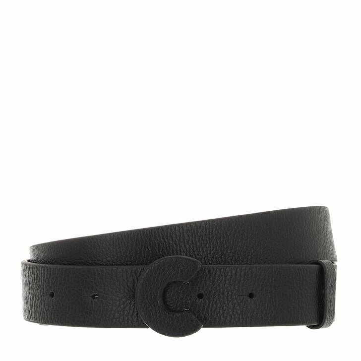 belts, Coccinelle, Belt Bottalatino Noir