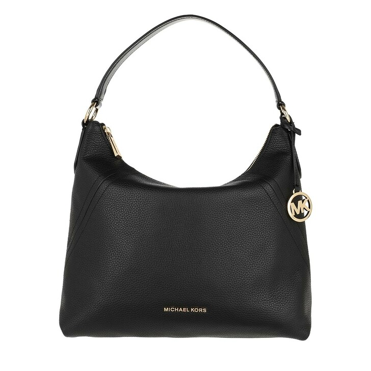 Handtasche, MICHAEL Michael Kors, Aria Large Shoulder Bag Black