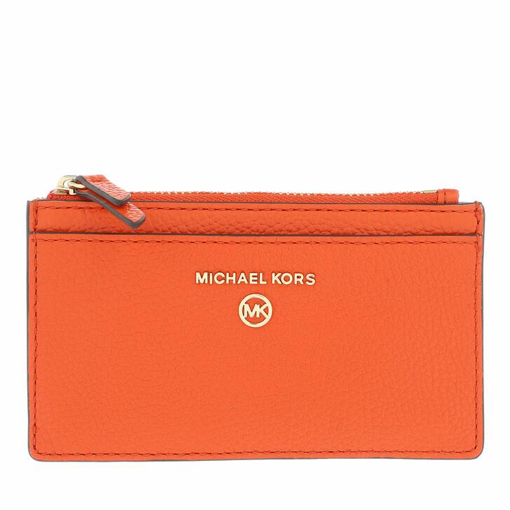 wallets, MICHAEL Michael Kors, Small Slim Card  Clementine