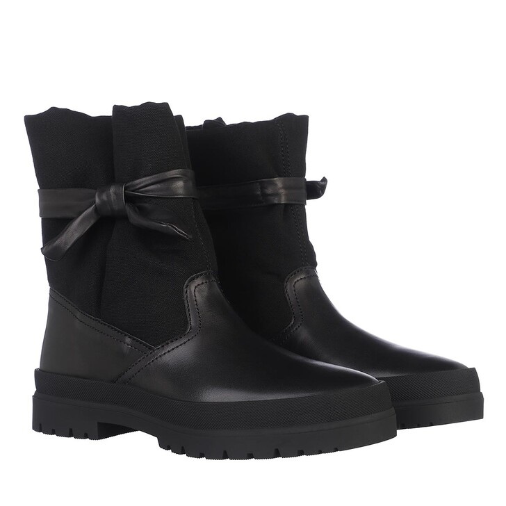 Schuh, Kenzo, Kenzo Safari Boots Leather Black