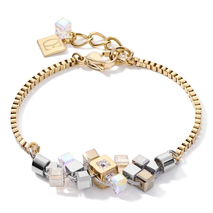 bracelets, COEUR DE LION, Bracelet Gold-Silver