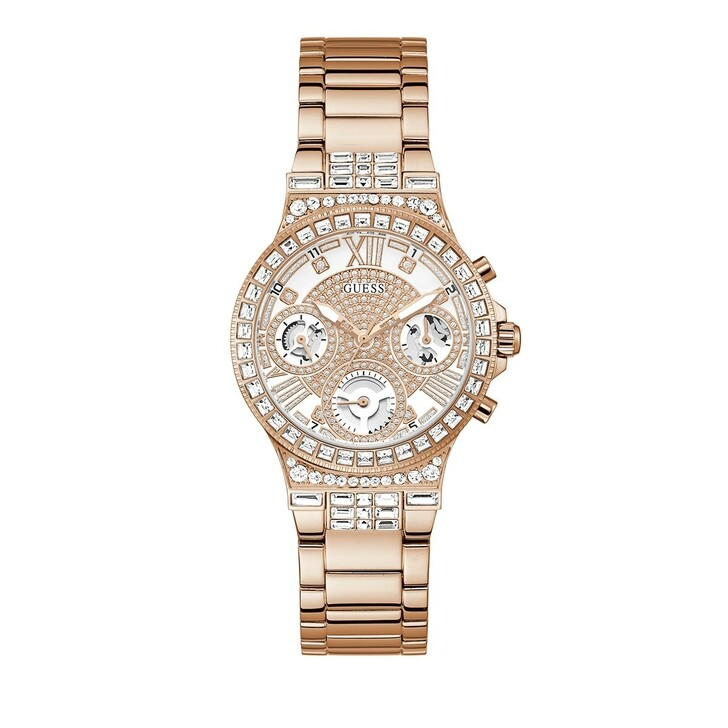 watches, Guess, Ladies Watch Moonlight Rose Gold/Bronze