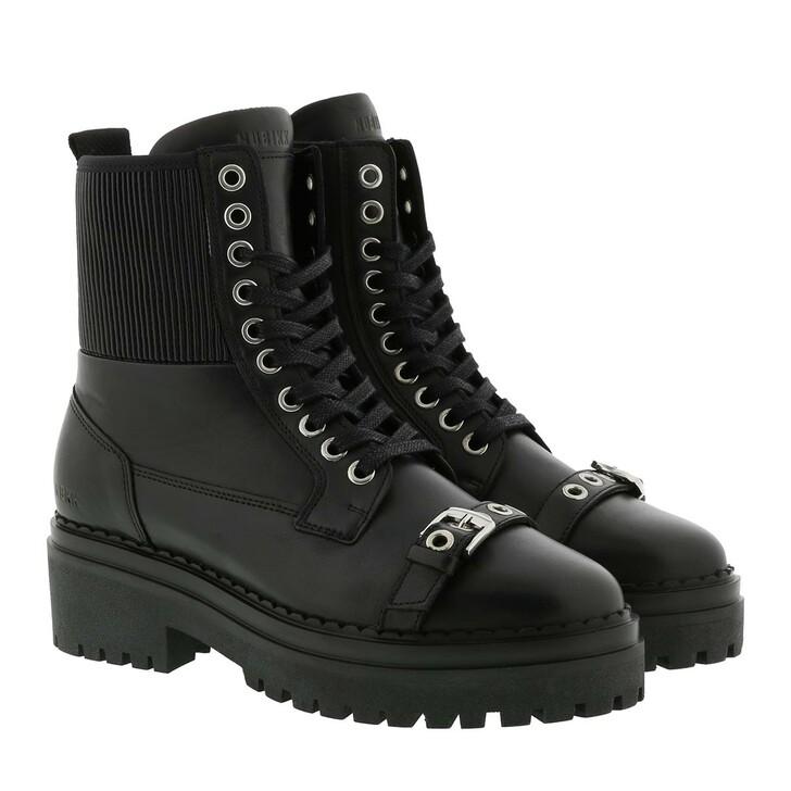 Schuh, Nubikk, Fae Wave Boot Black