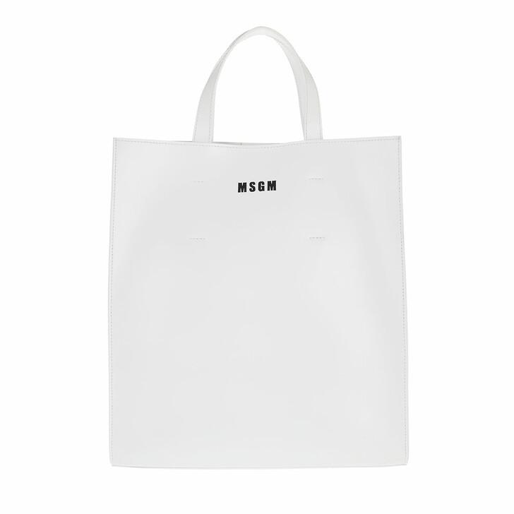 bags, MSGM, Borsa Donna White