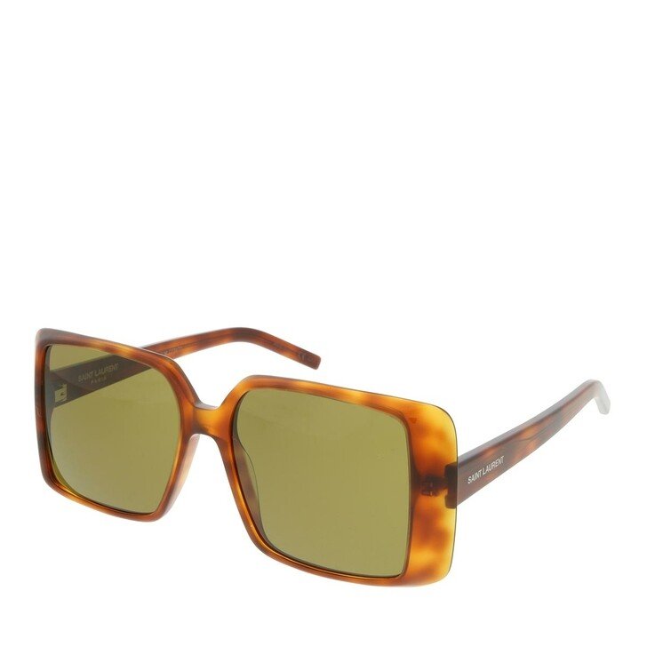 Sonnenbrille, Saint Laurent, SL 451-005 56 Sunglasses Woman Havana