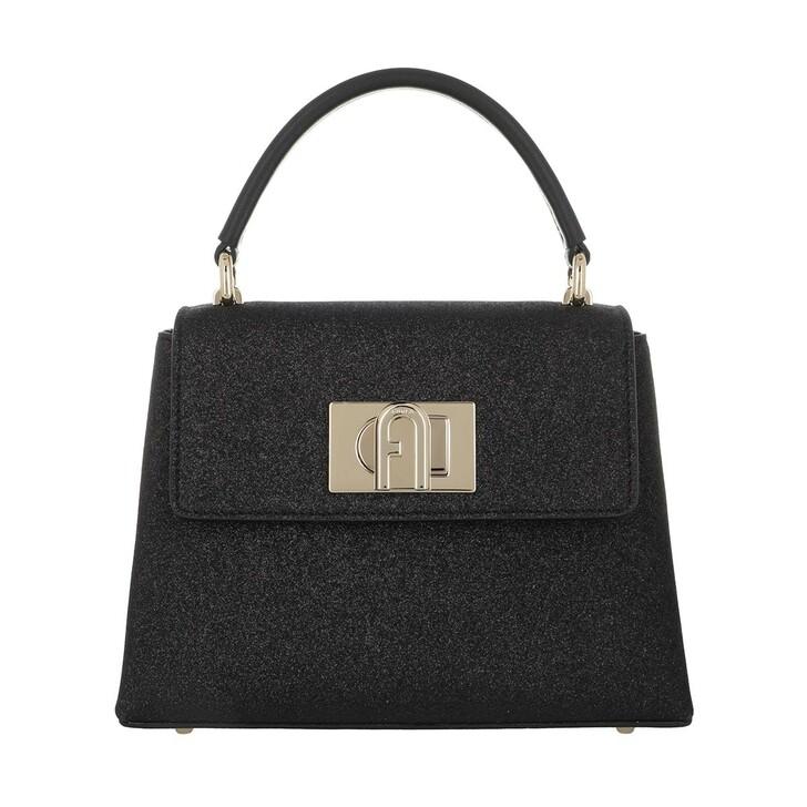bags, Furla, 1927 Mini Handle Bag Black