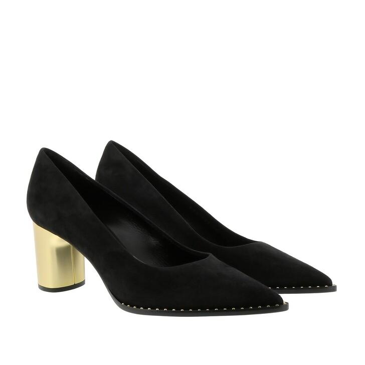 Schuh, Casadei, Scarpa Camosc Boots Black