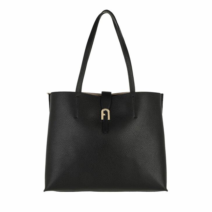 bags, Furla, Furla Sofia L Tote - Vitello St.Eracle Nero