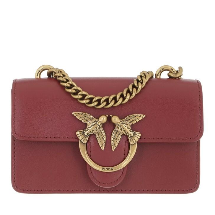 bags, Pinko, Love Baby Icon Simply C Vit.Se Cuoio Cordovano