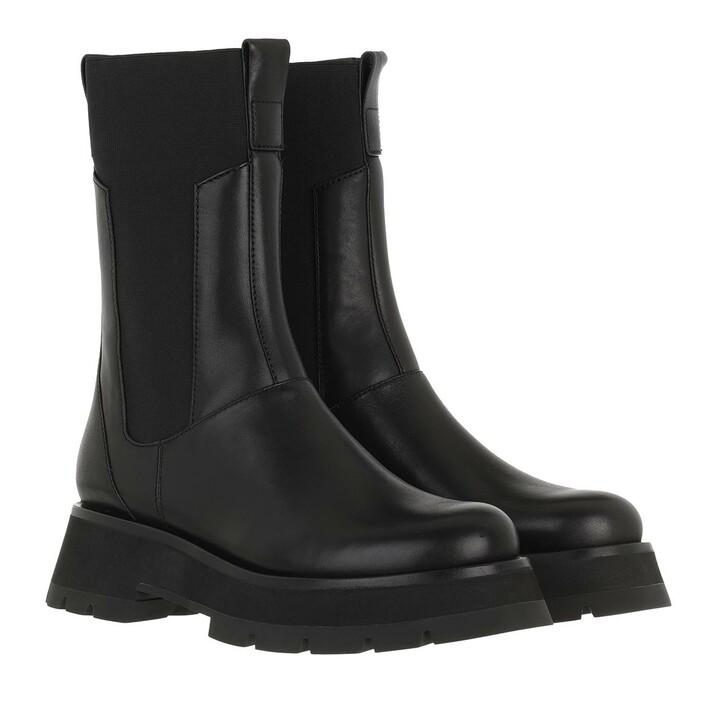 Schuh, 3.1 Phillip Lim, Kate Lug Sole Combat Boot Black