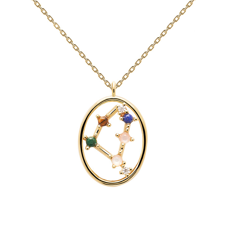 Kette, PDPAOLA, Necklace CAPRICORN Yellow Gold