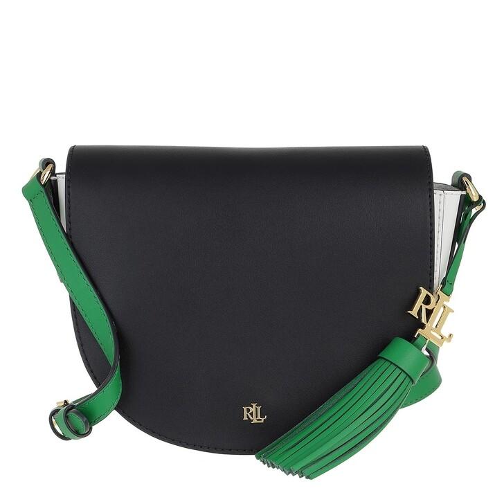 bags, Lauren Ralph Lauren, Witley 20 Crossbody Medium Lauren Navy/Snow White/Antibes Green