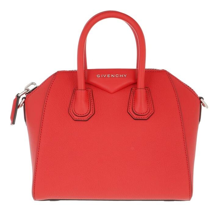 Handtasche, Givenchy, Antigona Mini Bag Light Red