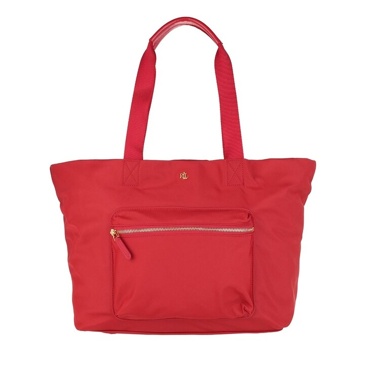 Handtasche, Lauren Ralph Lauren, Canton 35 Tote Medium Red
