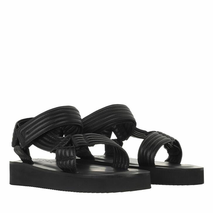 shoes, Closed, Ylva Sandaletten Leather Black