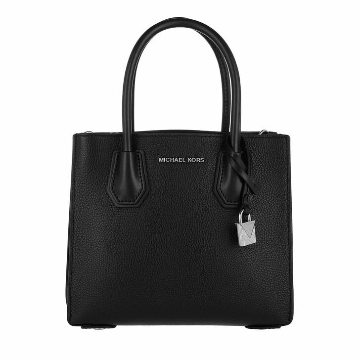 Reisetasche, MICHAEL Michael Kors, Mercer MD Messenger Bag Black