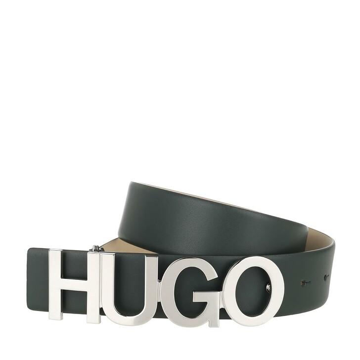 Gürtel, Hugo, Zula Belt 4 cm Dark Beige