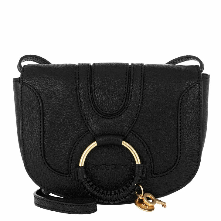 Handtasche, See By Chloé, Hana Mini Crossbody Bag Smooth Black