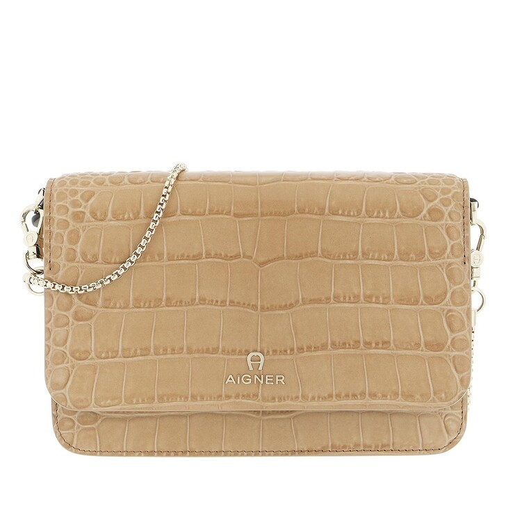 wallets, AIGNER, Fashion Wallet Cinnamon