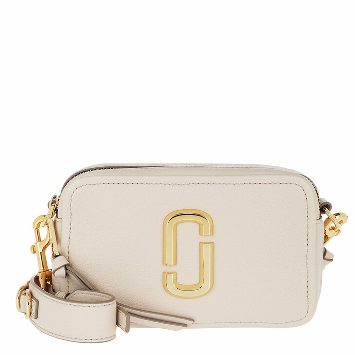 Handtasche, Marc Jacobs, The Softshot 21 Crossbody Bag Cream