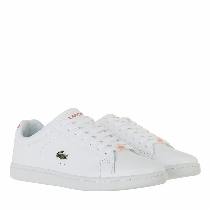 shoes, Lacoste, Carnaby Evo     White Dark Pink
