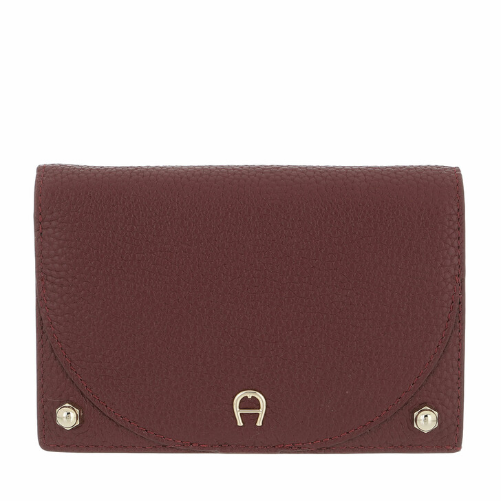 wallets, AIGNER, Diadora Wallet Burgundy