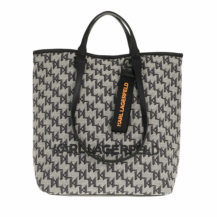 bags, Karl Lagerfeld, K/Monogram Jkrd Tote A900 Multi