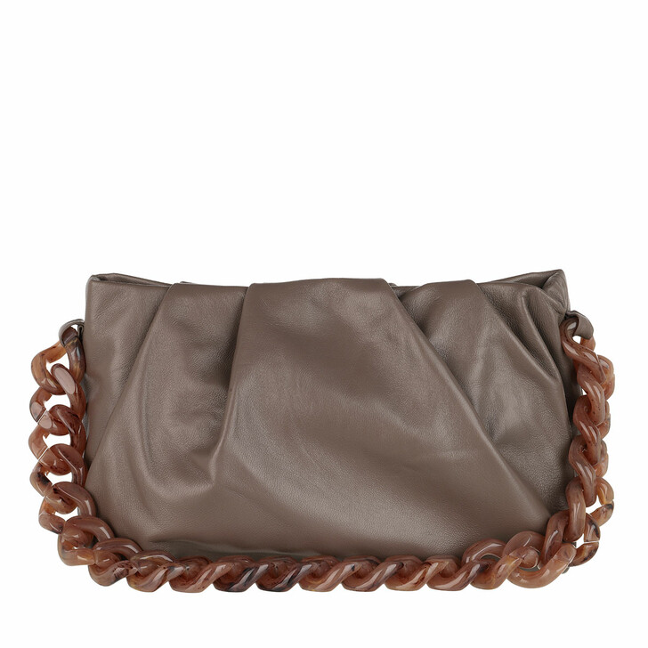 Handtasche, Abro, Gali Shoulder Bag Taupe