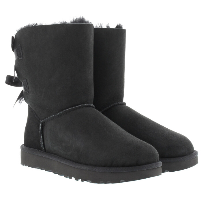 Schuh, UGG, W Bailey Bow II Black