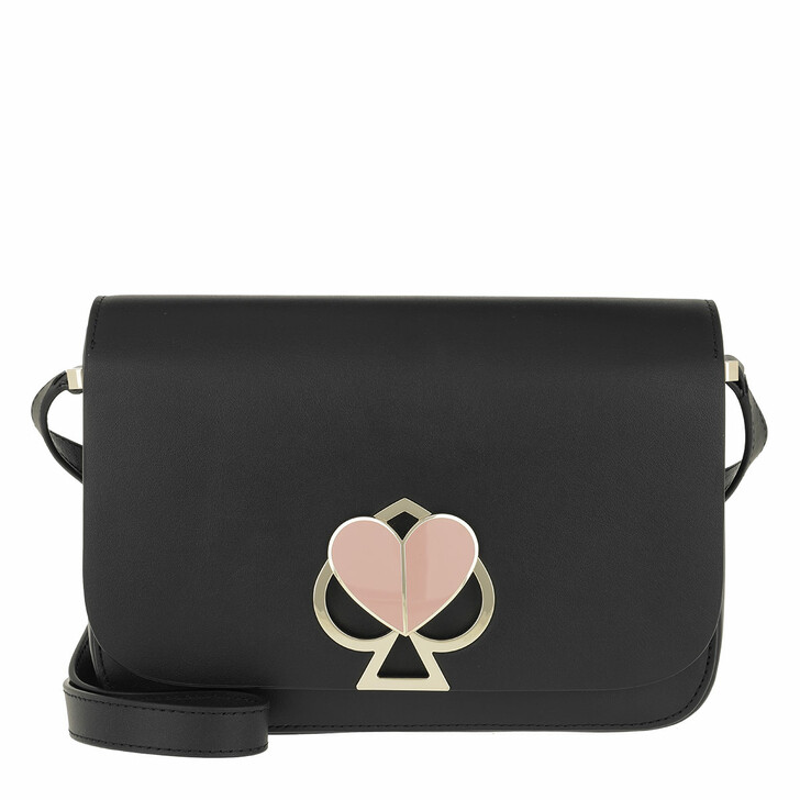 Handtasche, Kate Spade New York, Nicola Twistlock Crossbody Bag Black