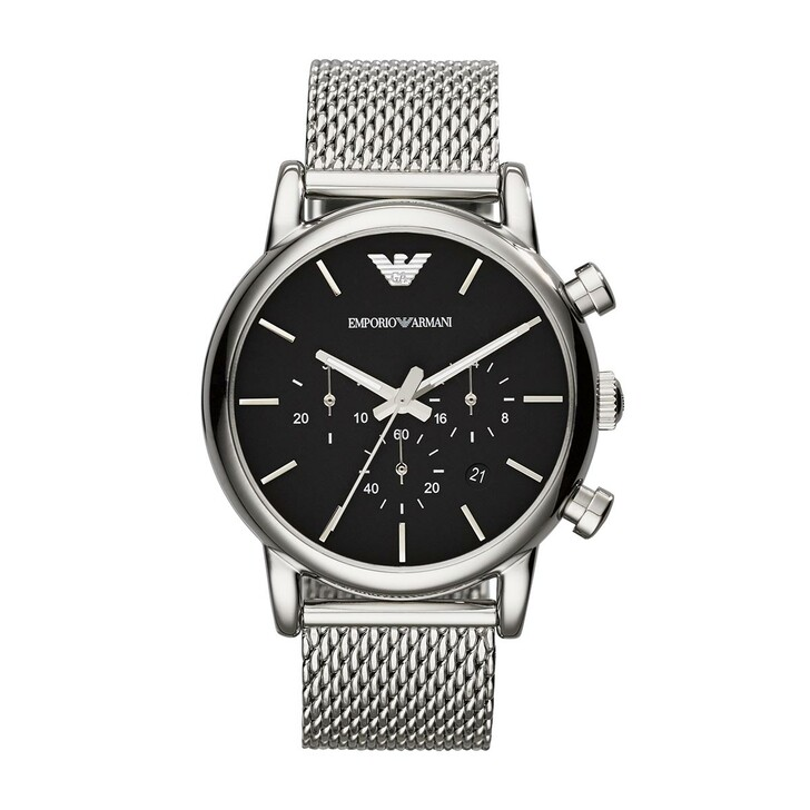 Uhr, Emporio Armani, Luigi Dress Watch Silver