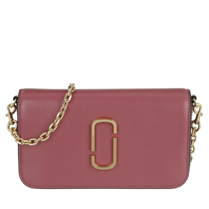 Handtasche, Marc Jacobs, Snapshot Crossbody Bag With Chain Dusty Ruby Multi