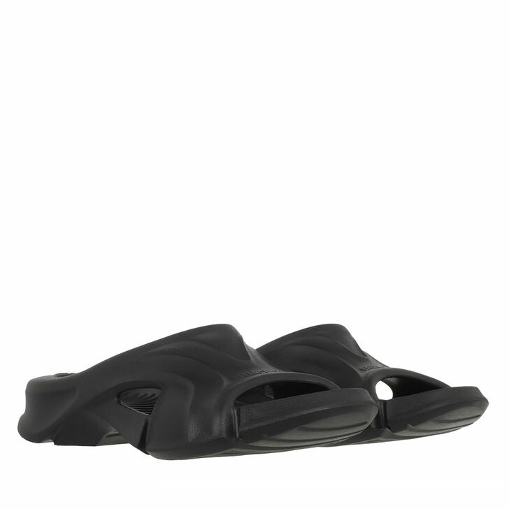 shoes, Balenciaga, Mold Slide Sandal Black