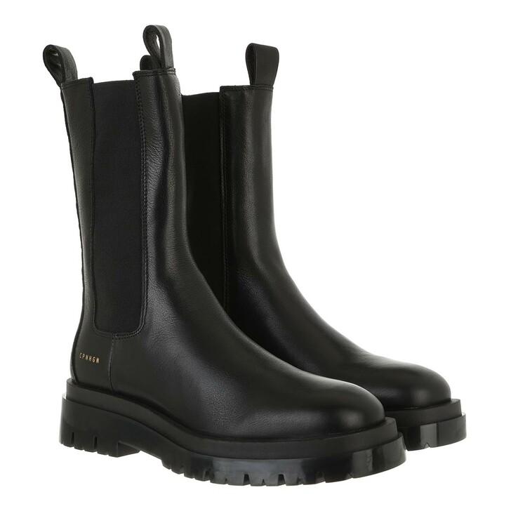 shoes, Copenhagen, CPH1000 Boot Calf Leather Black
