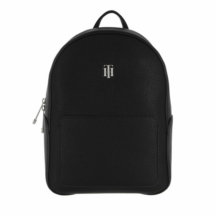 bags, Tommy Hilfiger, TH Essence Backpack Black