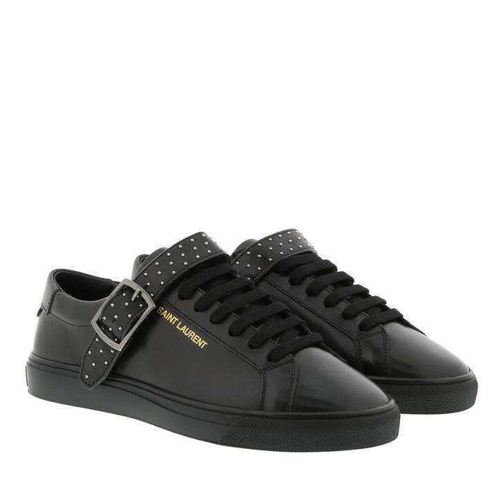 Schuh, Saint Laurent, YSL Sneaker Black