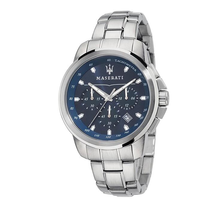 Uhr, Maserati, Successo 44mm silver